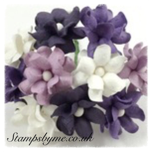 SWEETHEART BLOSSOM PAPER FLOWERS - MIDNIGHT COLLECTION - 230715h