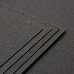 CARD PACKS - Black Craft Card 280gsm - 230815a
