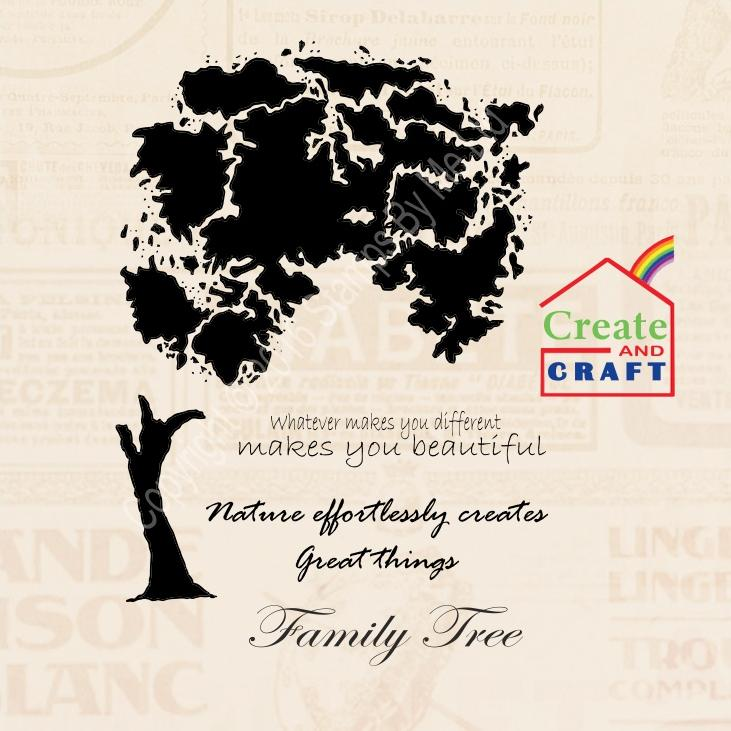 STAMP AND SENTIMENT - Lamination - Wish Tree - 150116a