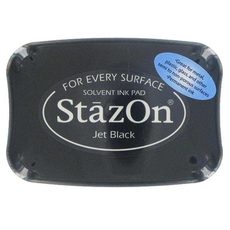 STAZON INK PAD JET BLACK 080116a
