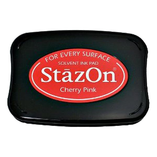 STAZON INK PAD CHERRY PINK 080116b