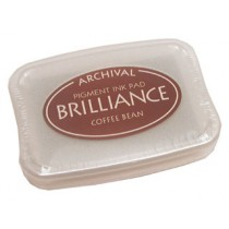 ARCHIVAL BRILLIANCE INK PAD COFFEE BEAN 080116h