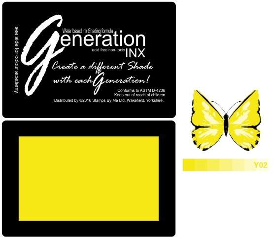 TV GENERATION INX Vol2 - Yellow  Y02 - 240516b