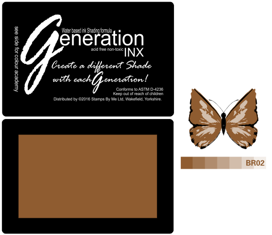 TV GENERATION INX Vol2 - Brown  BR02 - 240516e