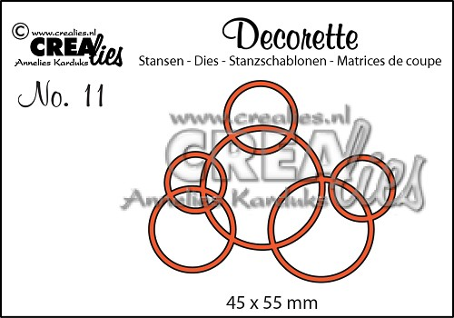 DIE - CREALIES Interlocking circles - 270516a