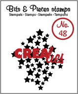 CREALIES - stamp stars N48 300716i