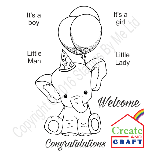 384302 - TV STAMP AND SENTIMENT - Stamp and Scratch - Congratulations - 290816c