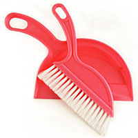 MINI DUSTPAN AND BRUSH 150916a