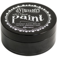 DYLUSIONS ACRYLIC PAINT MARBLE BLACK 150916e