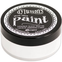 DYLUSION ACRYLIC PAINT WHITE LINEN 150916f