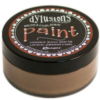 DYLUSION ACRYLIC PAINT MELTED CHOCOLATE 150916g