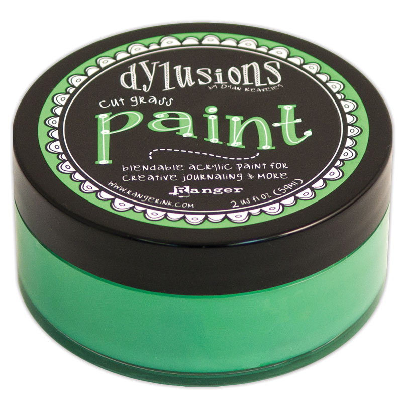 DYLUSIONS ACRYLIC PAINT CUT GRASS 150916k