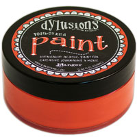 DYLUSIONS ACRYLIC PAINT POST BOX RED 150916o