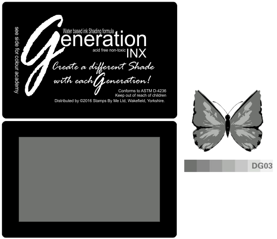 TV GENERATION INX Vol3 - Dark Grey  DG03 - 221016b