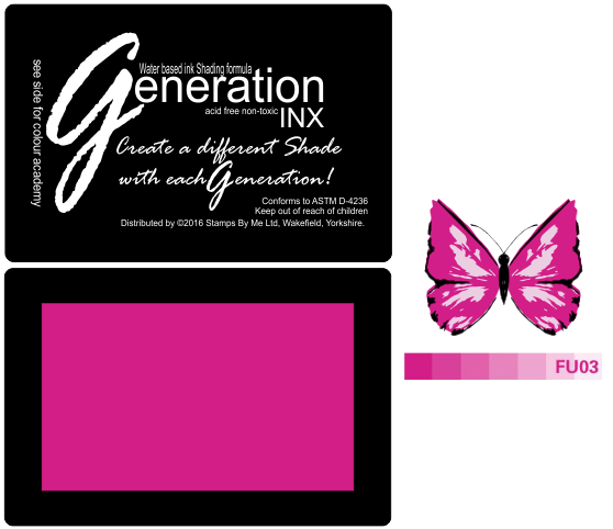 TV GENERATION INX Vol3 - Fuchsia  FU03 - 221016d