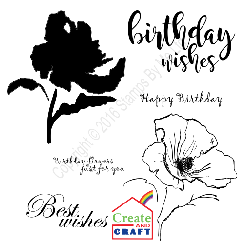 387278 - TV STAMP AND SENTIMENT - Lamination - Birthday Wishes - 231016v