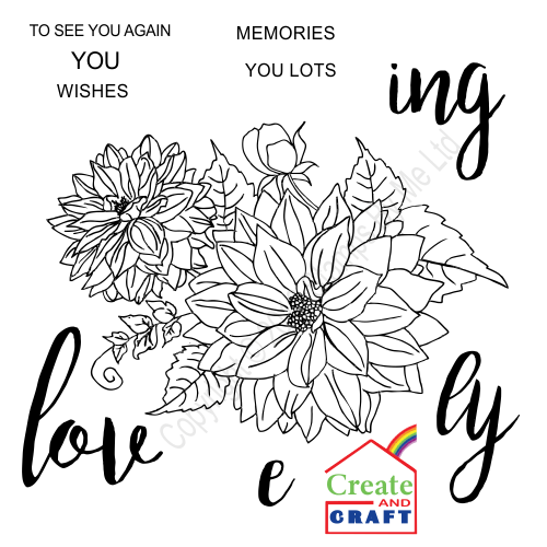 387279 - TV STAMP AND SENTIMENT - Loving Wishes - 231016v