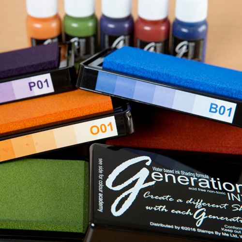 387732 - TV GENERATION INX - Vol 1, 5 INK PADS AND REINKERS - Earthy Tones - 456780 - FBL