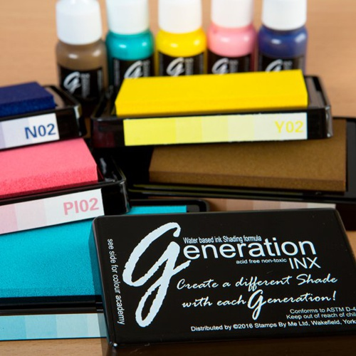 387734 - TV GENERATION INX - Vol 2, 5 INK PADS AND REINKERS - Floral Tones