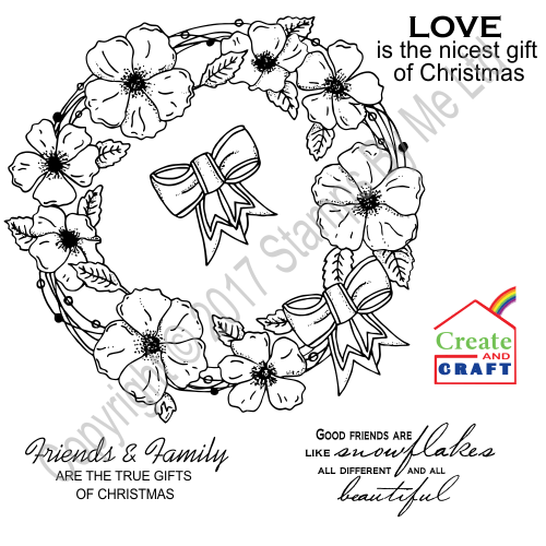 433845 - TV STAMP AND SENTIMENT CHRISTMAS - True Gifts of Christmas - 040917a