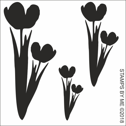446344 TV - STENCIL BUNDLE LAMINATION PLUS - Floral Splendour Collection 2 (total of 5 stencils) - 140318f 050418