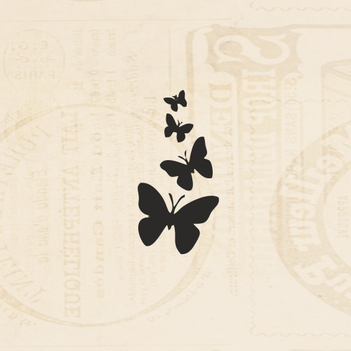 STAMP - MINI ME BUTTERFLIES