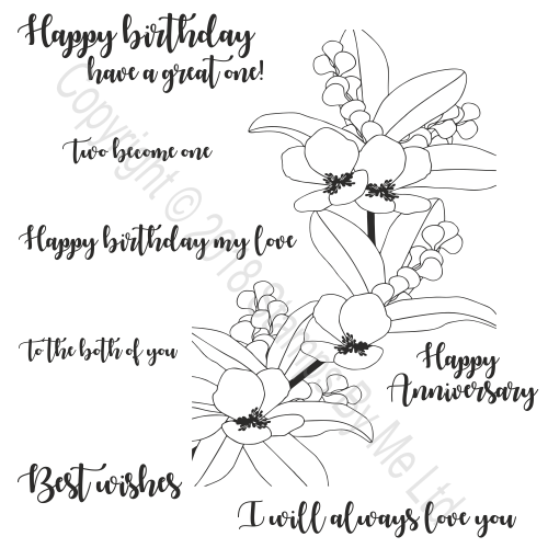 457888 TV - STAMP AND SENTIMENT - HAPPY OCCASIONS - 180918e