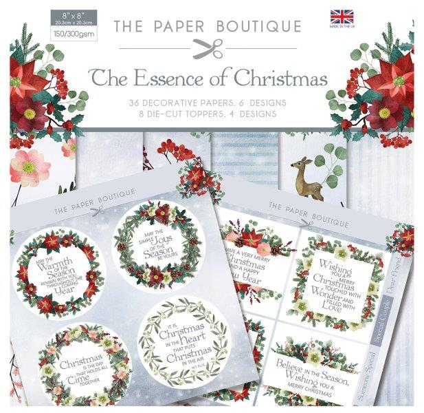 PAPER BOUTIQUE PAPER KIT THE ESSENCE OF CHRISTMAS - FBL