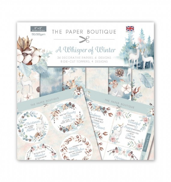 PAPER BOUTIQUE PAPER KIT WHISPER OF WINTER