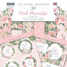 PAPER BOUTIQUE PAPER KIT PINK PARADISE