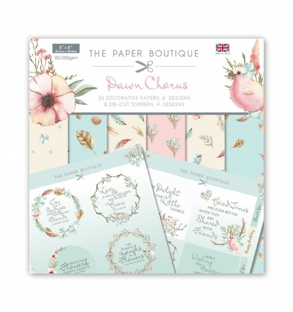 PAPER BOUTIQUE PAPER KIT DAWN CHORUS