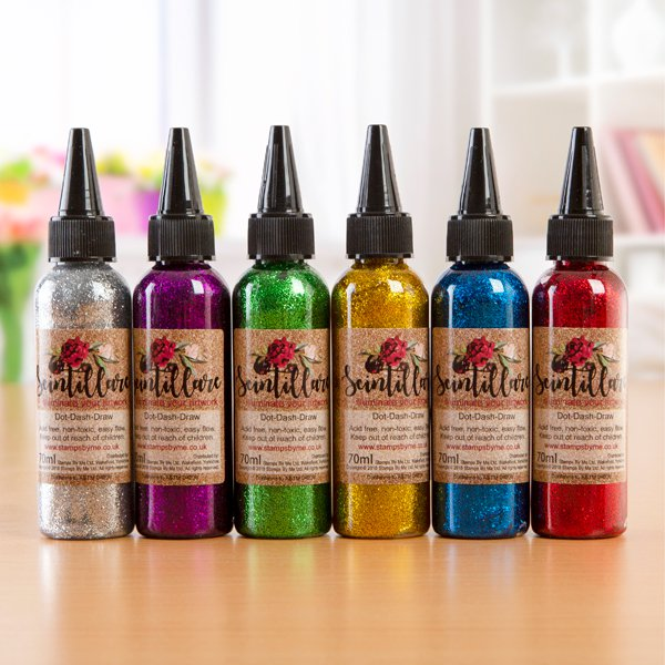 460922 TV - GLITTER GLUE - SCINTILLARE SET 2 SUBTLE - 6 COLOURS - 291118w