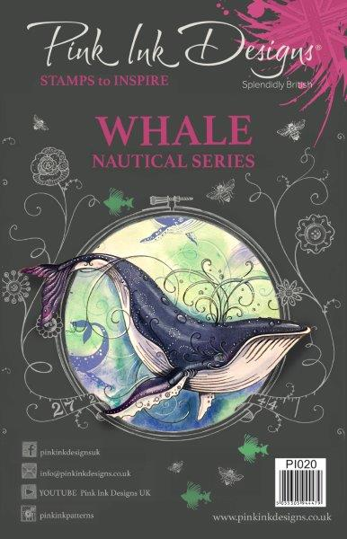 PINK INK DESIGNS WHALE