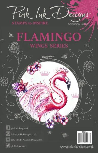 PINK INK DESIGNS FLAMINGO