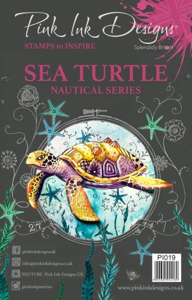 PINK INK DESIGNS SEA TURTLE