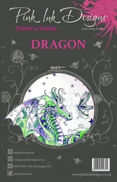 PINK INK DESIGNS DRAGON
