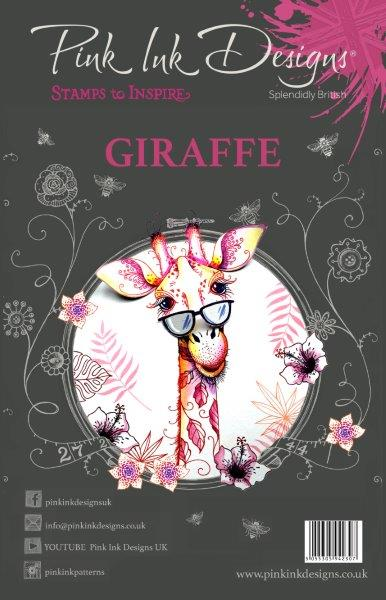 PINK INK DESIGNS GIRAFEE