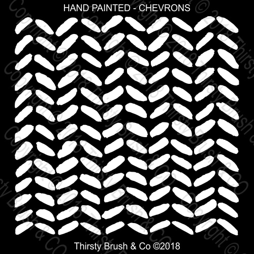 THIRSTY BRUSH & CO CHEVRONS