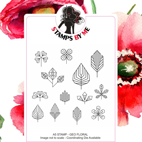 471333 - TV - COLOUR FULL COLLECTION 1 - GEO FLORALS A5 STAMP SET - 050419c - SHOW