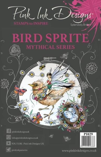PINK INK DESIGNS BIRD SPRITE