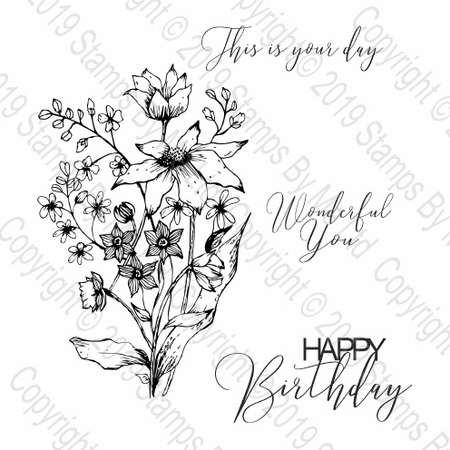478620 TV - STAMP SET - WONDERFUL YOU - 010719a