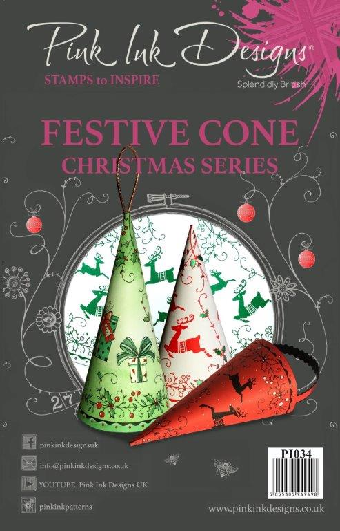 PINK INK DESIGNS FESTIVE CONE