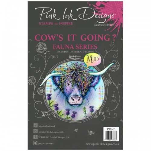 PINK INK DESIGNS COWS IT GOING - FBL