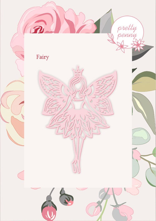 498340 TV - PRETTY PENNY - DIE SET - FAIRY - 151119r