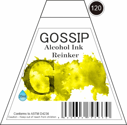 GOSSIP - ALCOHOL INK REINKER, 120 - 271119m