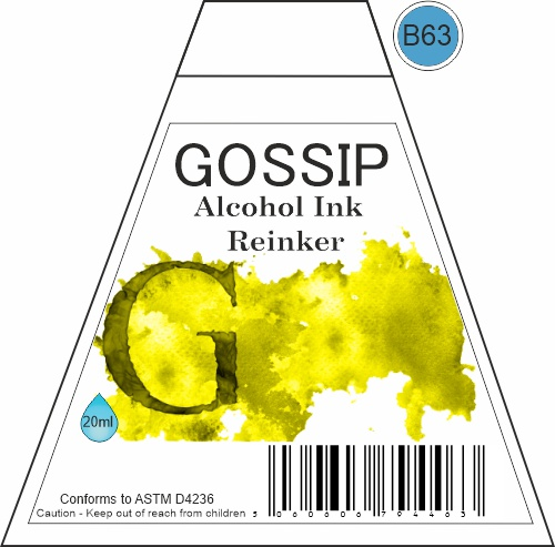 GOSSIP - ALCOHOL INK REINKER, B63 - 271119o