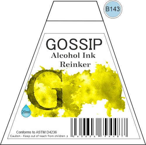 GOSSIP - ALCOHOL INK REINKER, B143 - 271119s