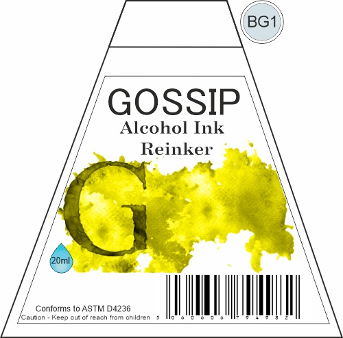 GOSSIP - ALCOHOL INK REINKER, BG1 - 271119u