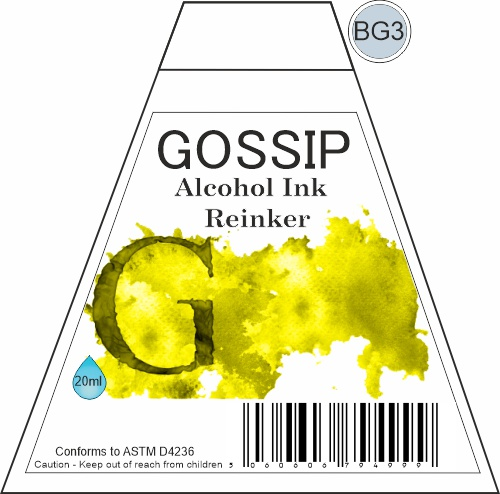 GOSSIP - ALCOHOL INK REINKER, BG3 - 271119v