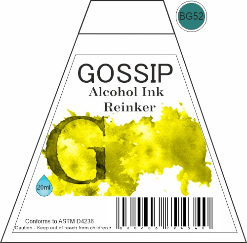 GOSSIP - ALCOHOL INK REINKER, BG52 - 271119a2